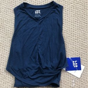 NEVER WORN blue workout tank